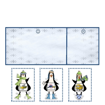 Odd Penguin Out - Rhyming Oddity Literacy Center