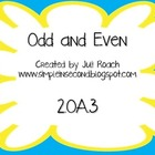 Odd and Even 2.OA.3