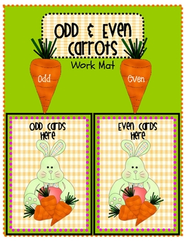 Odd and Even Carrots!