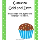 Odd and Even Cupcake Number Sort