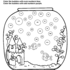 Odd and Even Numbers / Fun Fish Tank Worksheet
