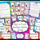 Odd or Even Number Sense Game for Your Entire Class!