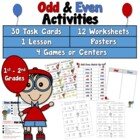 Odd/Even Activities for 2nd Graders