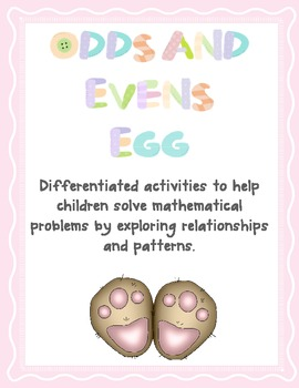 Odds and Evens Eggs - Maths Word Problems