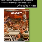 Odyssey Books 5 & 6: Questions, Dramatic Irony Activity, and Quiz