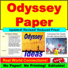 Odyssey Challenge: Writing Project