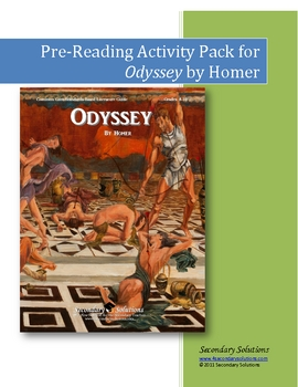 Odyssey Pre-Reading Ideas and Activity Pack