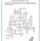 Of Mice and Men: Figurative Language Crossword--Fun!
