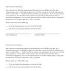 Of Mice and Men Movie Permission Slip