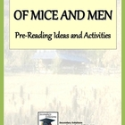 Of Mice and Men Pre-Reading Ideas and Activities