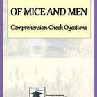 Of Mice and Men Study Guide Questions - Entire Novel
