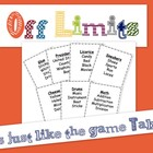 Off Limits Game (it&#039;s just like Taboo)