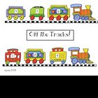 Off the Tracks!  Game for addition to 9
