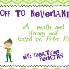 Off to Neverland {A Math and Literacy Unit Based on Peter Pan}