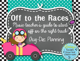 Off to the Races: Music Teacher's Guide to Starting your Y