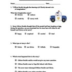 Officer Buckle and Gloria ~ Reading Comprehension Test/Quiz