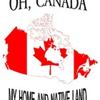 Oh Canada My Home and Native Land Unit, Handouts and Worksheets