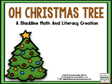 Oh Christmas Tree! A Christmas Tree BLACKLINE Math And Lit
