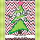Oh Christmas Tree! Math or Language Craftivity Pack