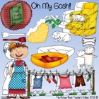 Oh My Gosh! Clip Art Set