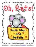 Oh, Rats! Main Idea, Details, and Paragraph Writing