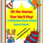 Oh, the Games That We'll Play! {Open Ended Game Board}