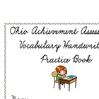 Ohio Achievement Assessment Vocabulary Handwriting Wookbook