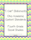 Ohio Grade 4 Social Studies: I Can Statements