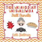 Old Lady Fall Bundle Pack {Leaves, Bat, Pie}