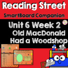 Old MacDonald Had a Woodshop SmartBoard Companion Reading