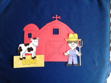 Old McDonald Story Board Set - Preschool Activity