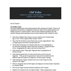 Old Yeller Comprehension/Reflection Questions, Vocab, Proj