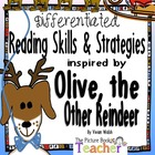 Reading Skills & Strategies inspired by Olive, the Other Reindeer