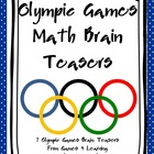 Olympic Games Math Brain Teasers