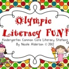 Summer Games Literacy station FUN!