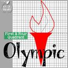 Olympics Coordinate Graphing Pictures - First AND Four Quadrant