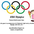 Olympics Flashcard Accompaniment Activity