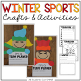 Olympics Craftivity With Teamwork Activities