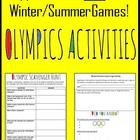 Sochi 2014 Winter Games Supplemental Classroom Activities
