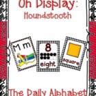 On Display ~ Houndstooth Classroom Theme