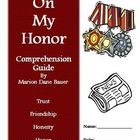 On My Honor by Marion Dane Bauer Reading Activities Super Bundle