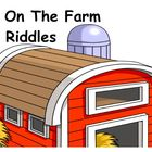 On The Farm Riddle Smart Lesson