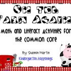 On the Farm Again {Math and Literacy Activities for the Co