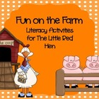On the Farm--Common Core Literacy Activities