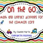 On the Go! Transportation Activities for the Common Core