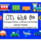 On the Go Transportation Literacy Activities