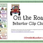 On the Road Behavior Clip Chart