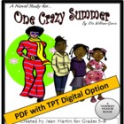 One Crazy Summer, by Rita Williams-Garcia: A Novel Study
