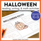 One Haunted Halloween! {Math &amp; Literacy Activities}