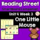 One Little Mouse SmartBoard Companion Reading Street Kindergarten
